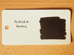 Aurora Black - Word Card