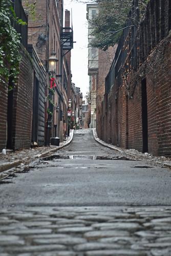 Alley in Beacon Hill (Boston)