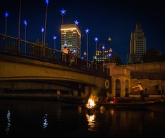 The Bridge is Lit (Photo by Jennifer Bedford)