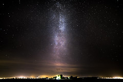 Milky way above Uppsala