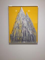 Andy Warhol Silkscreen of Stuttgart Tower