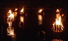 Fires alight (Photo by Jen Bonin)