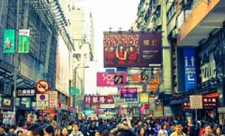 Crowded Mong Kok by Luke,Ma, on Flickr