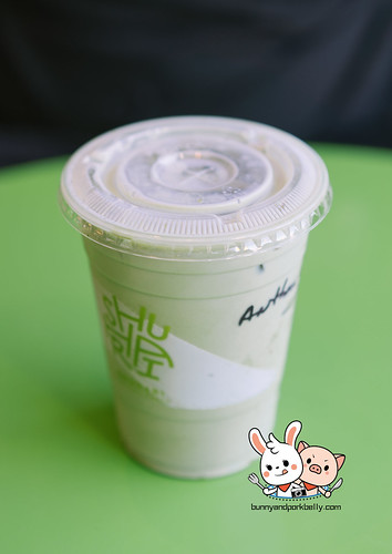 Kinako Matcha Latte