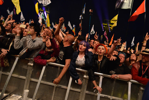 Down front for Muse at Glastonbury 2016 Pyramid Stage (friday) - Sara Bowrey-4