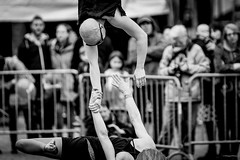 TRASHPEZE - Valpuri Kaarninen & Maria Peltola - 201704 Hopla Fête du Cirque (Bruxelles)