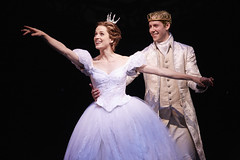 Paige Faure and Andy Jones in Rodgers + Hammerstein's Cinderella presented by Broadway Sacramento at the Sacramento Community Center Theater May 12 – 17, 2015. Photo by Carol Rosegg.