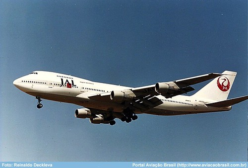 """Japan Airlines - JA8169 • <a style=""""font-size:0.8em;"""" href=""""http://www.flickr.com/photos/69681399@N06/33276636474/"""" target=""""_blank"""">View on Flickr</a>"""
