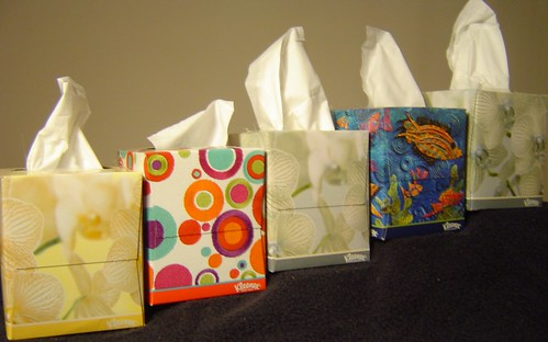 More tissue boxes in more places (Finis)