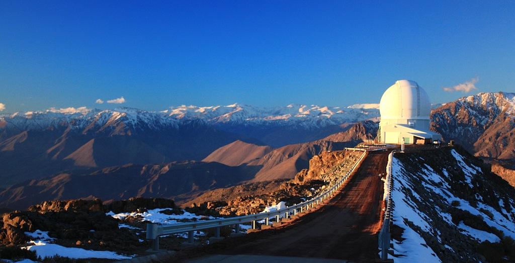 Cerro Pachon, SOAR, observatory, telescope, Andes, Chile