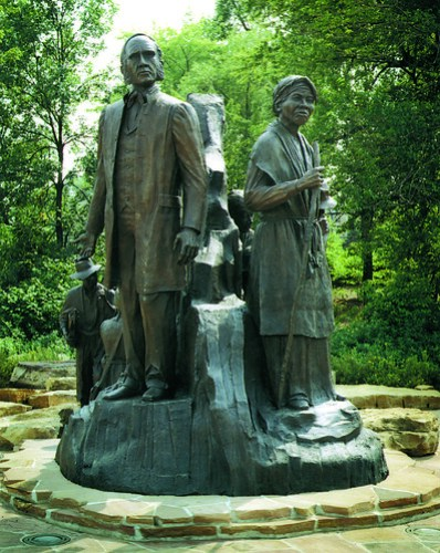 Underground RailRoad Sculpture - Battle Creek