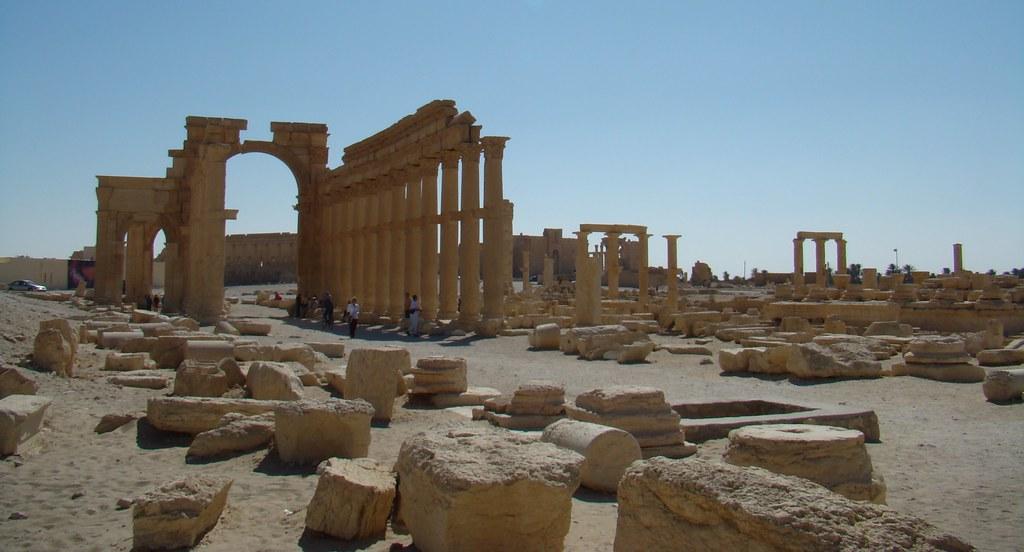 Palmira Arco Monumental Siria 199