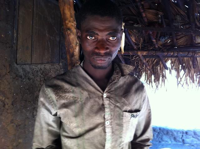 Igbira man in farming village, Kogi, Nigeria. #JujuFilms