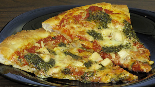 Chicken pesto pizza by Coyoty