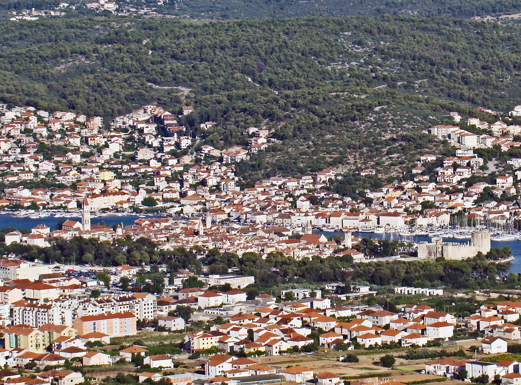 vistas de Trogir Croacia 53