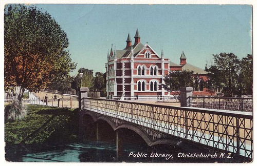 Public Library, Christchurch, N.Z.