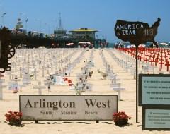 Santa Monica - Arlington West Memorial