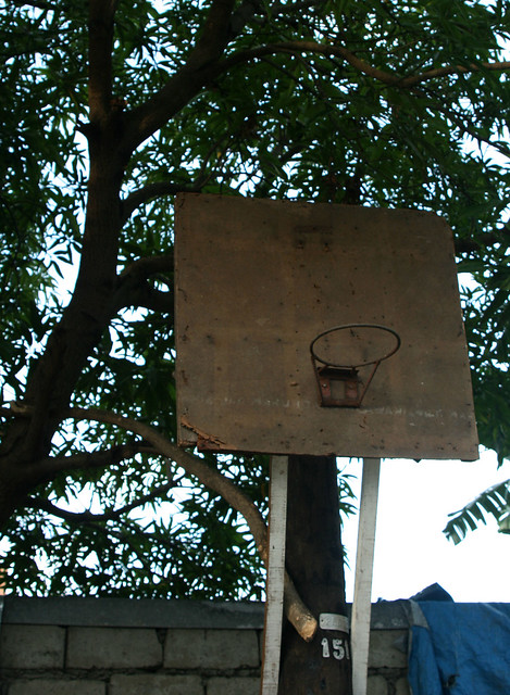 homemade basketball hoop 2