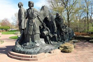 The Underground Railroad Sculpture