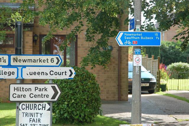 English road-signs