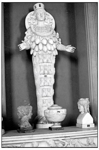Artemis of Ephesus: Vatican Museum, 1993