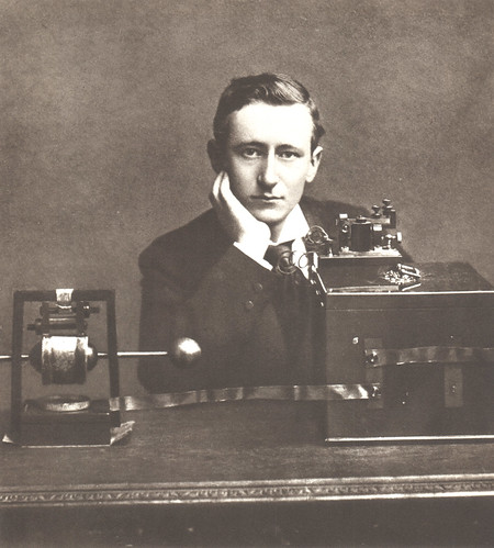 Portrait of Guglielmo Marconi (1874-1937), Engineer and Physicist