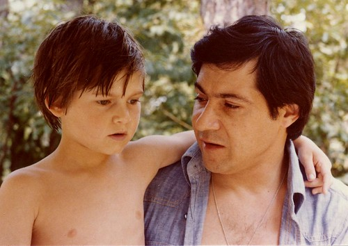 My dad and me, 1979.