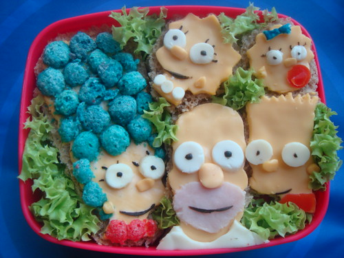 The Simpsons Bento by LoveBones