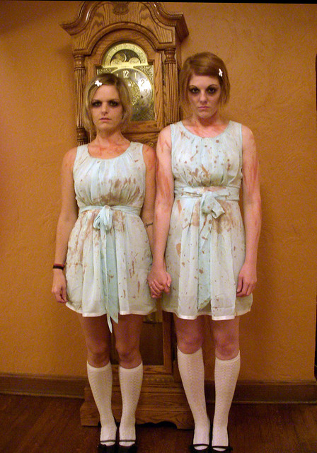 scary twin costumes halloween