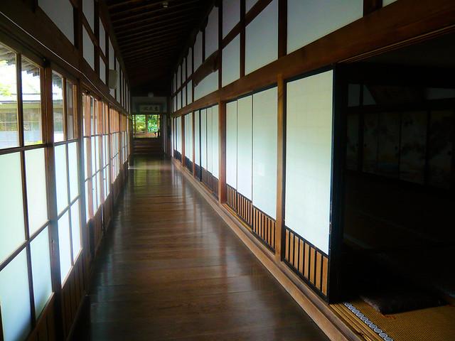 Ekoin temple - Corridor