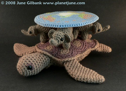 Amigurumi Discworld view 3