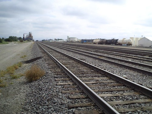 Dalhart rail lines