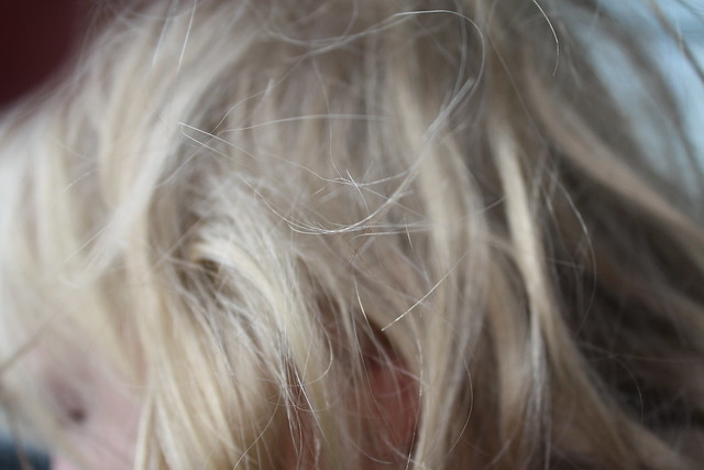 My little sisters hair