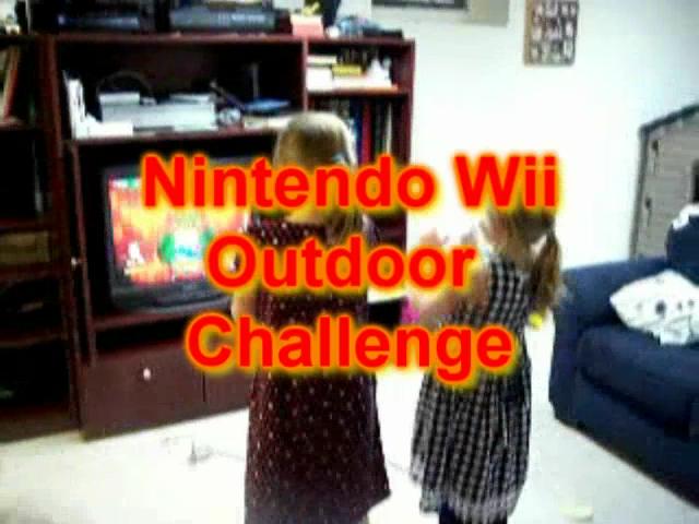 Nintendo Wii Outdoor Challenge