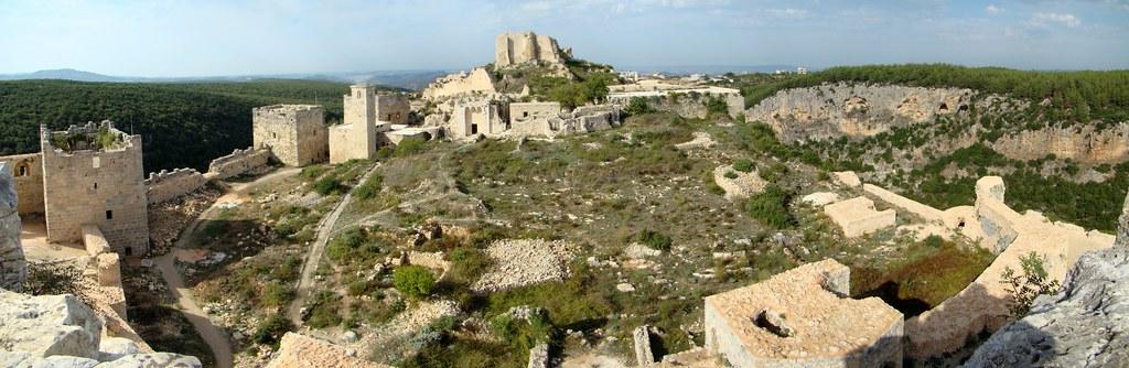 panoramica Siria Castillo de Saladino 57