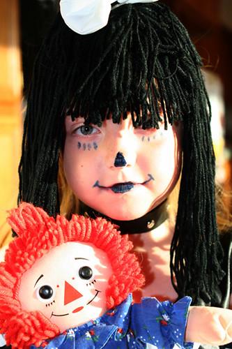 Goth Raggedy Ann