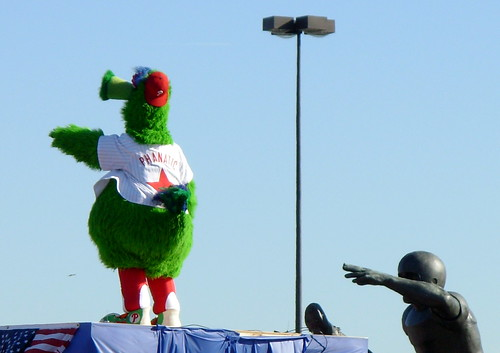 Phillie Phanatic - He's the Man!