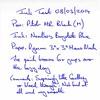 Ink Review Noodler's Baystate Blue - Ryman Memo