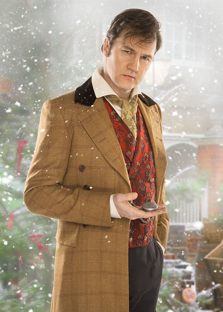 DOCTOR WHO DAVID MORRISSEY as The Doctor