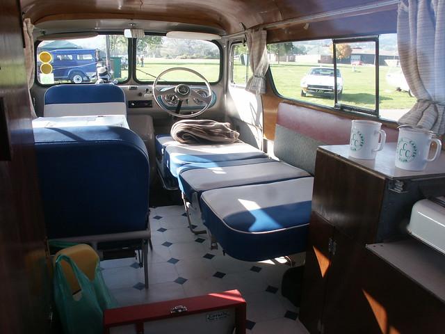 Bedford Dormobile Interior Flickr Photo Sharing