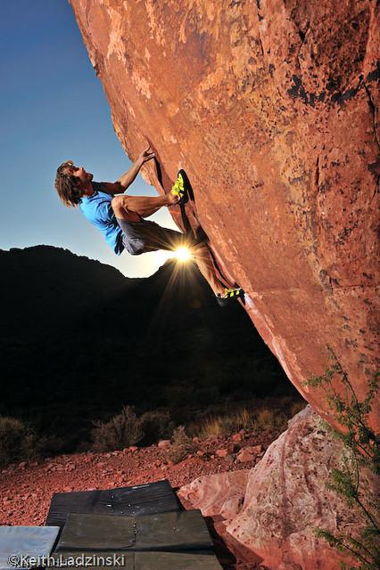 Chris Sharma Climbing Clockwork Orange Chris Sharma