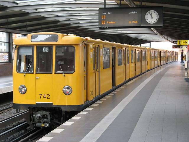 Berlin U-Bahn typ A3L.71, Mendelssohn-Bartholdy Park, Berlin