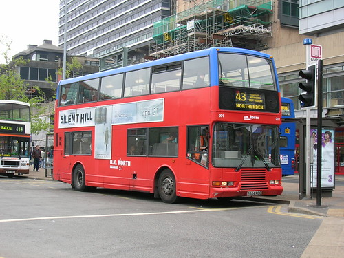 201 Volvo Olympian P344 ROO, UK North, Piccadilly Gardens
