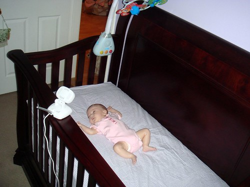 first nap in her crib