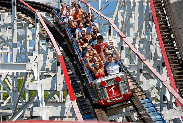 Thunderbolt Roller Coaster, Kennywood Park