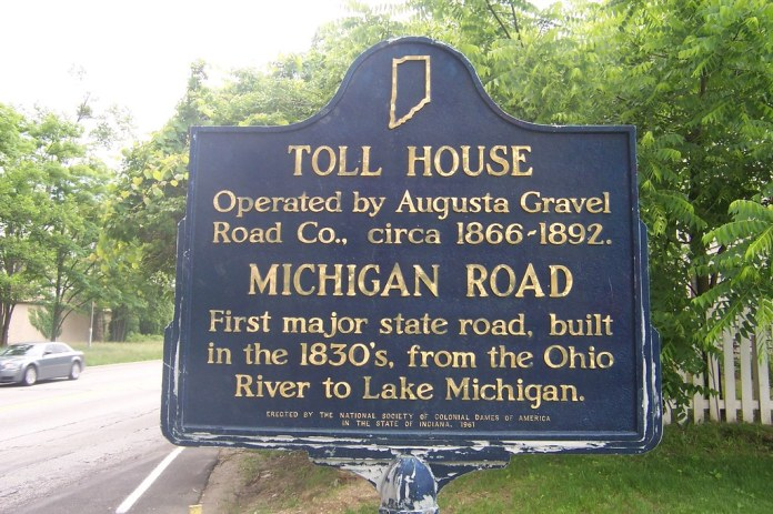 Toll house marker