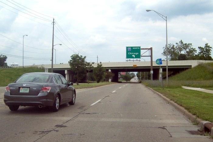 Michigan Road at I-65