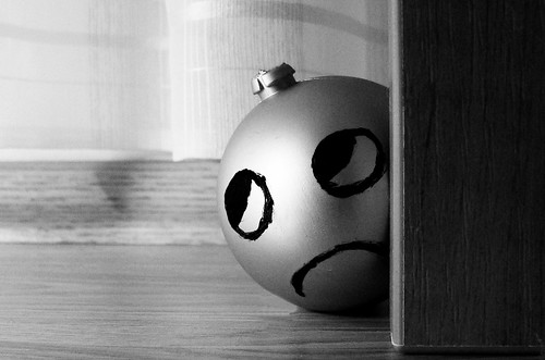 Poor Mr Xmas Ornament