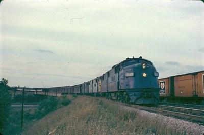 L&N E6 757 Kensington, IL 08-10-1966