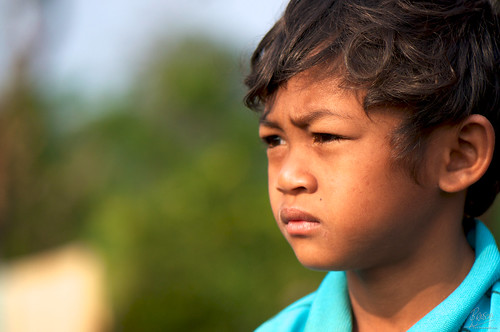 Cambodian Boy - Portrait